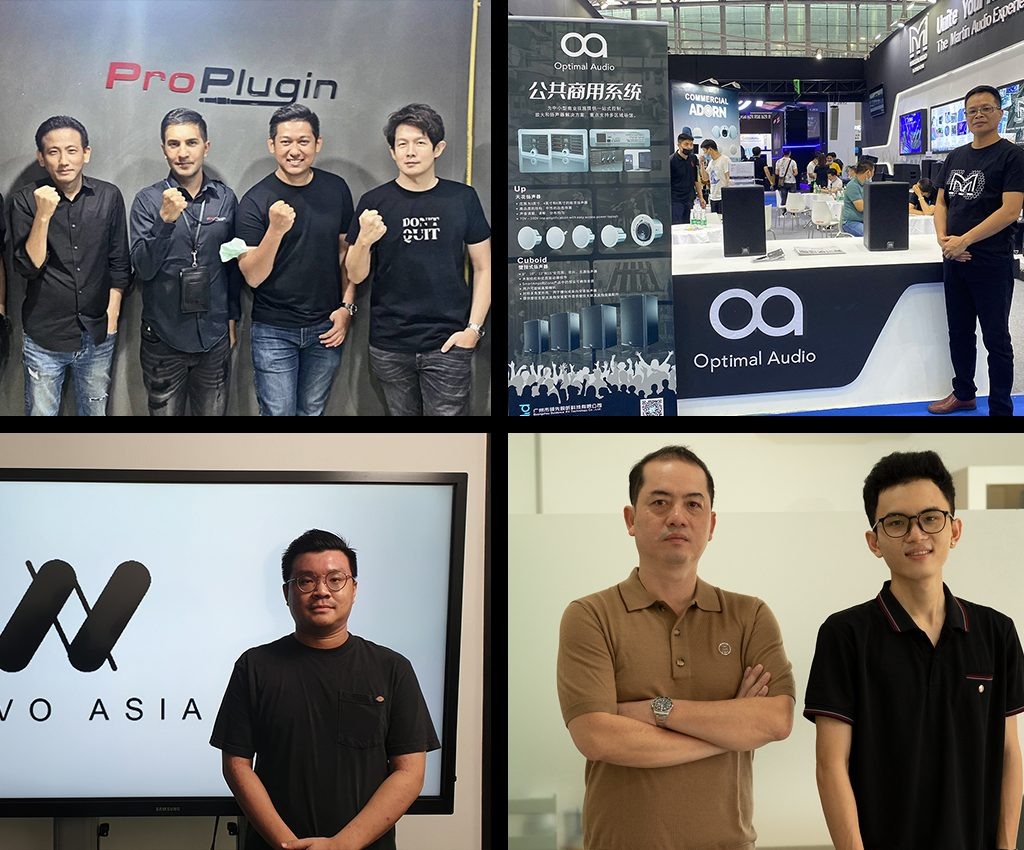 Optimal Audio Appoints First Four APAC Distributors.