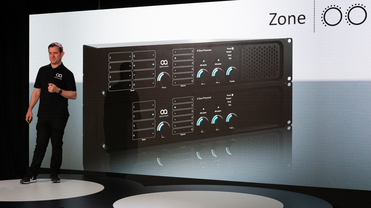 Optimal Audio Zone